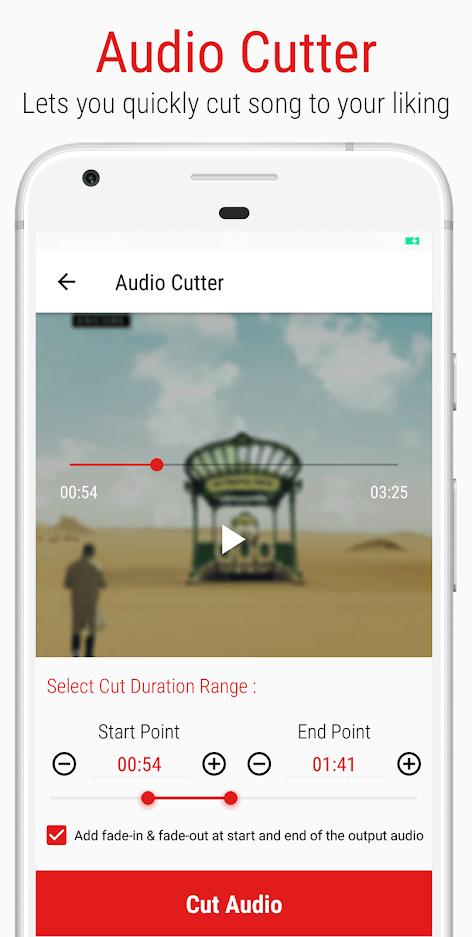 Mstudio Play,Cut,Merge,Mix,Record,Extract,Convert - Audio Editor Apk