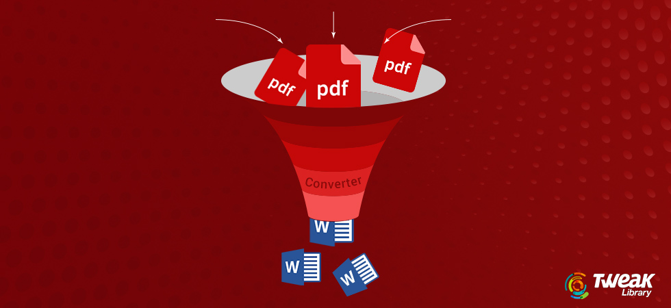 How to Convert PDF to Word Files on Windows