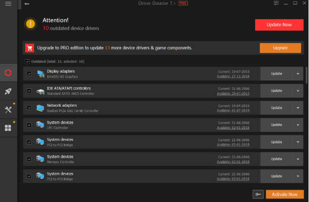 Driver Booster free driver updater