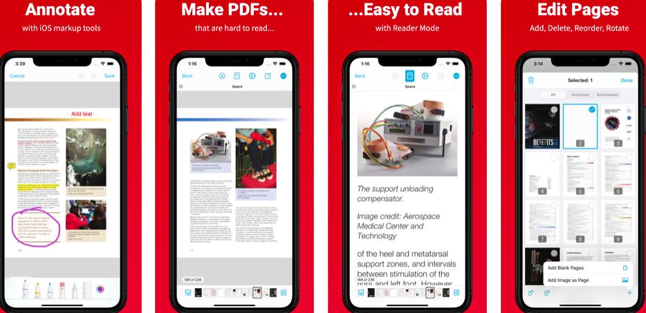 Xodo PDF Reader PDF converter
