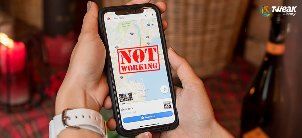 Fix Google Maps Not Working on iPhone