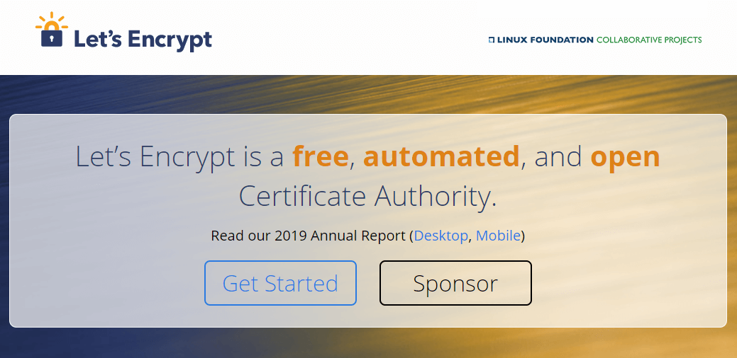 Free SSL Certificate Authority
