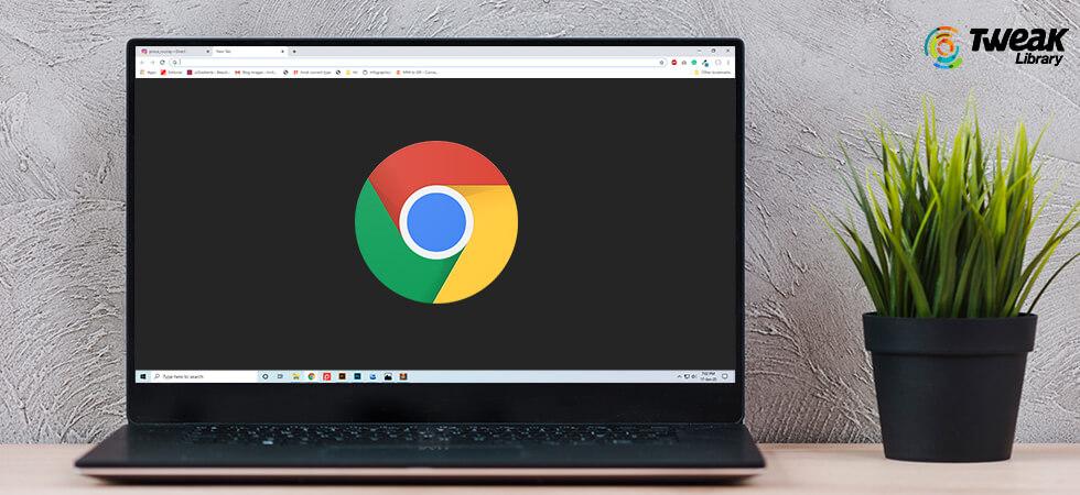 Fix Google Chrome Black Screen Issue on Windows 10