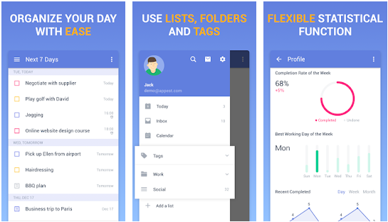 TickTick Note-Taking Apps