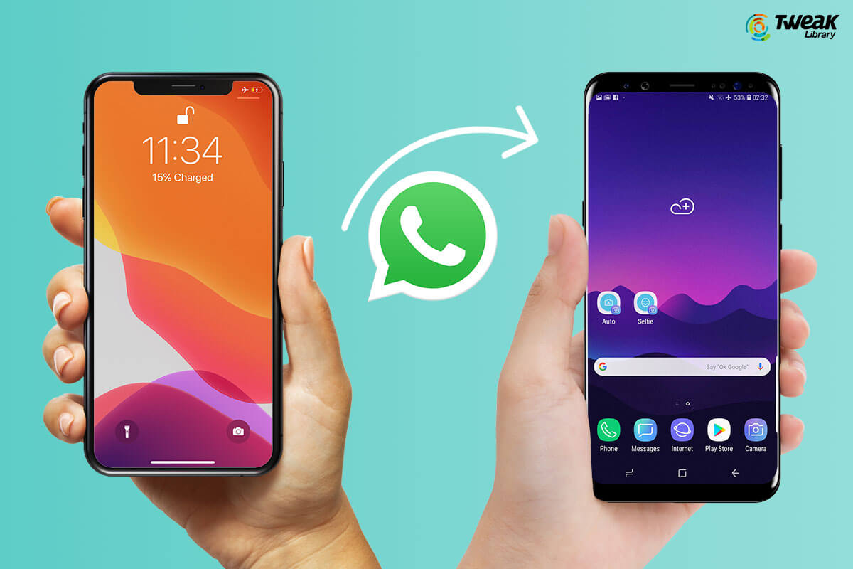 How To Transfer WhatsApp Messages From iPhone To Android