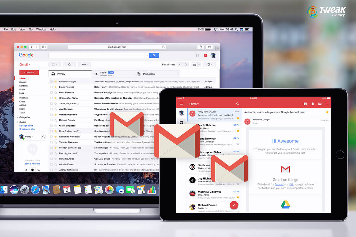 How To Import Emails Into Gmail's New Account