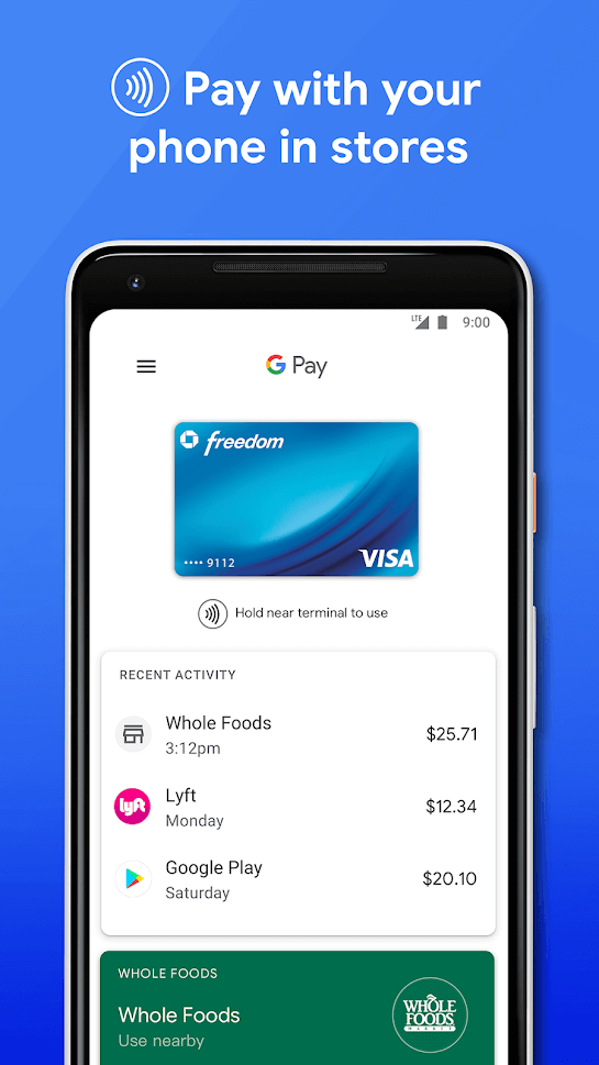 Set up Google Pay On Android Device