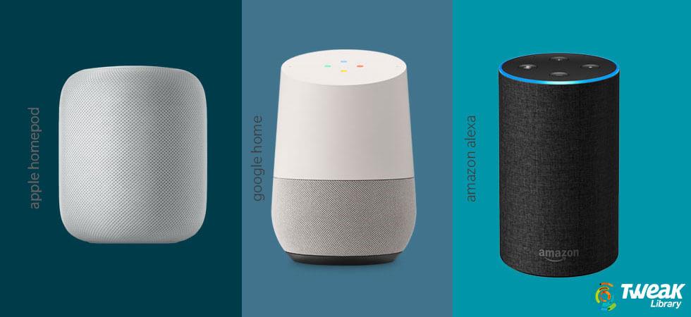 Comparison: Apple HomePod Vs Google Home Vs Amazon Echo