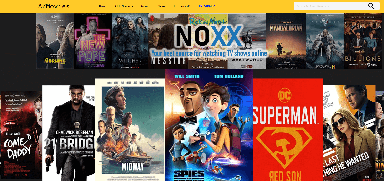AZ Movies - Putlocker Alternative