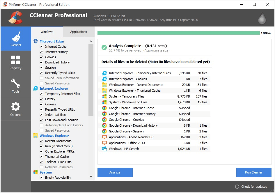 10 Best Free Pc Cleaner And Optimizer Software For Windows In 2021