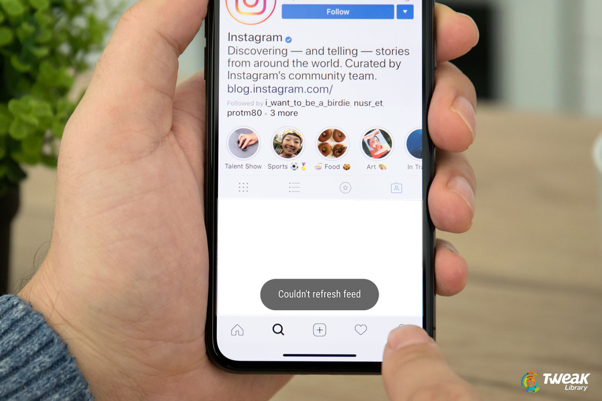 How To Fix Couldn't Refresh Feed Instagram Error