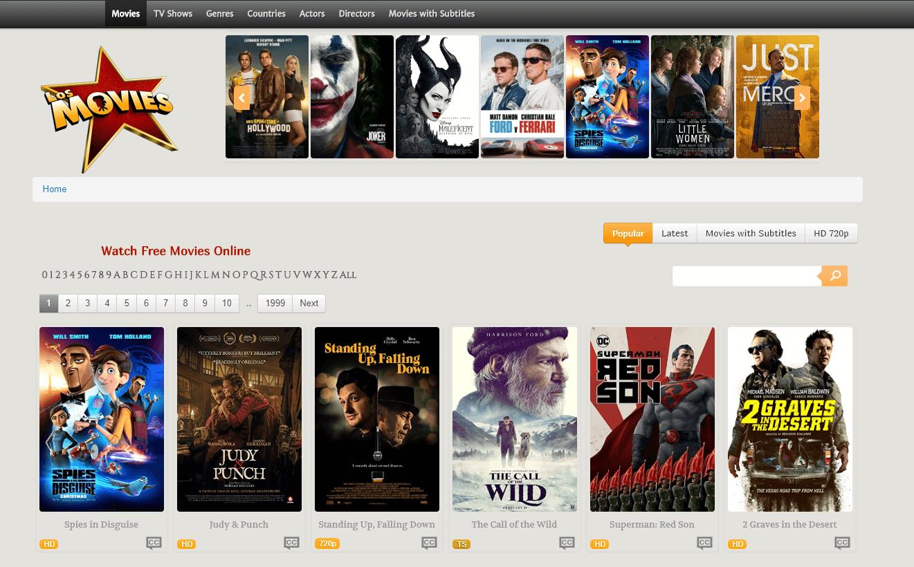 Los Movies - Putlocker Alternatives