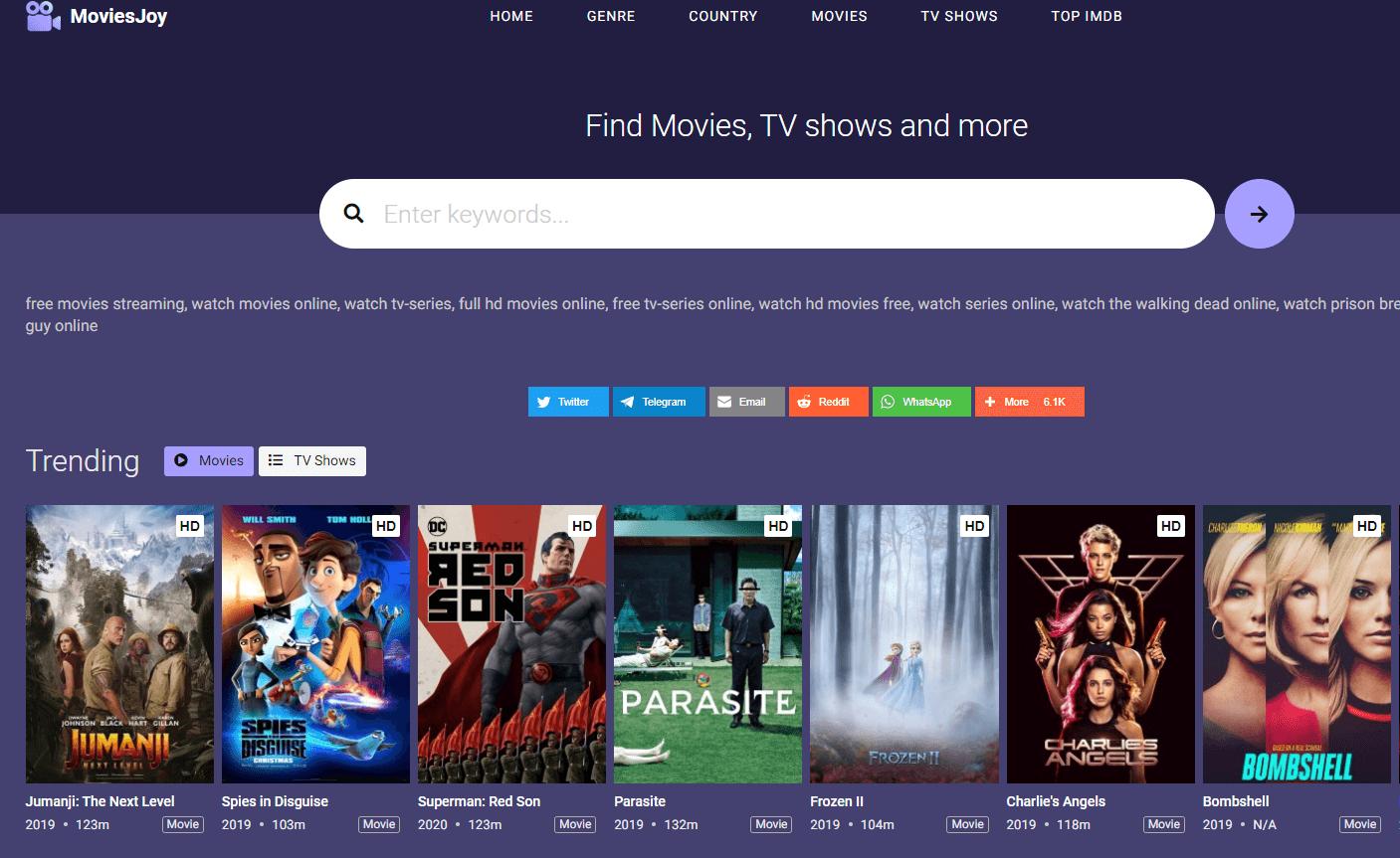 Movies Joy - Putlocker Alternatives