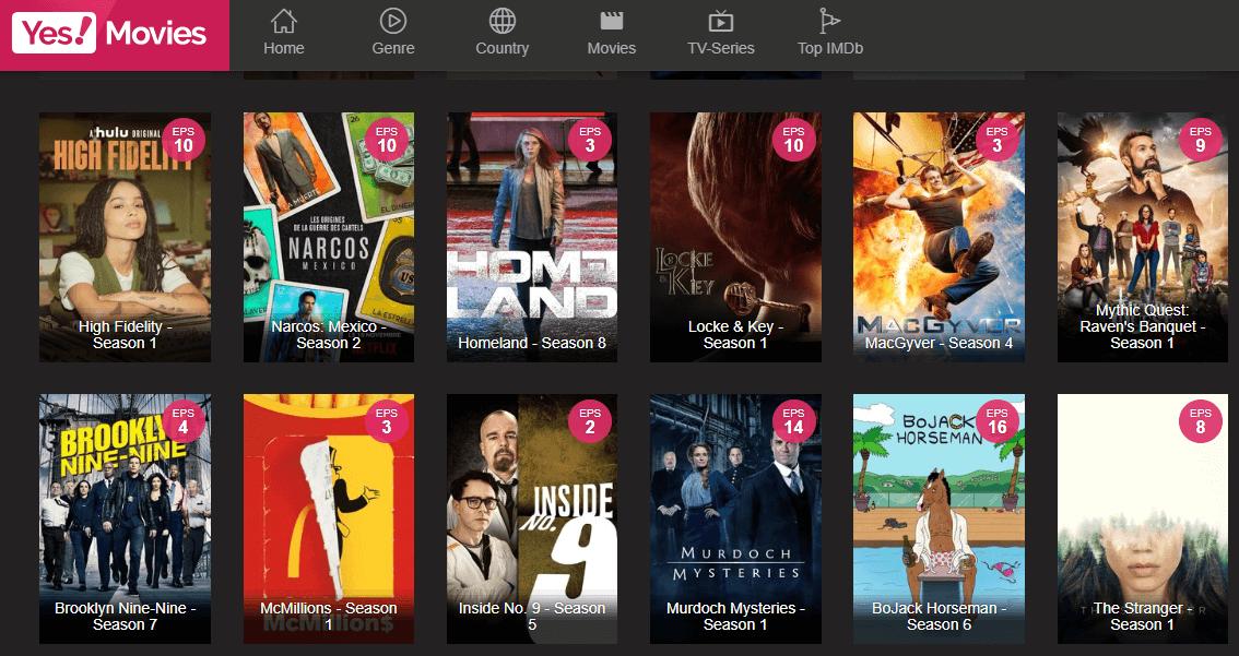 Yes! Movies - Putlocker Alternatives