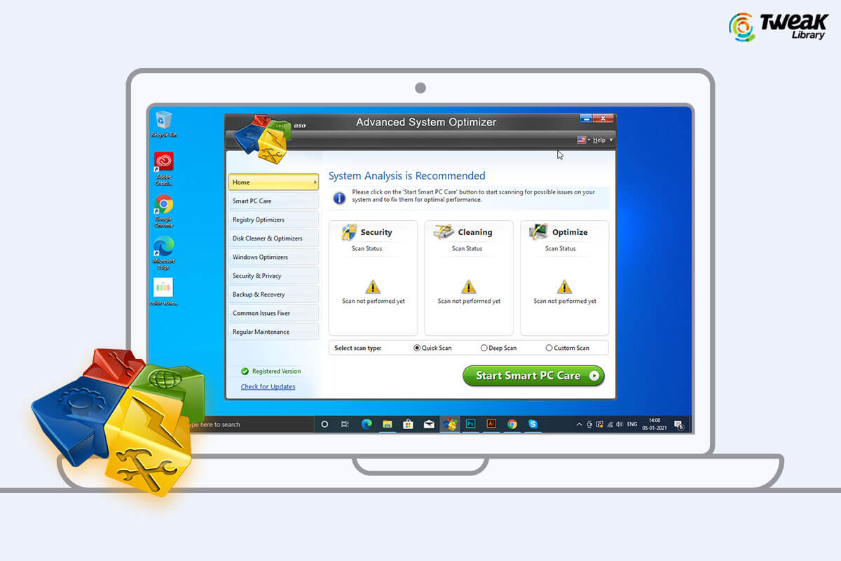 Review : Advanced System Optimizer – Best PC Cleaner & Optimizer