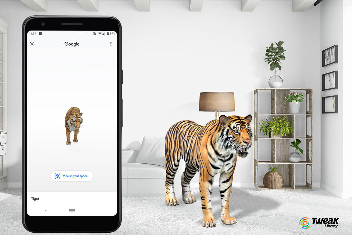 How To View Google 3D Animals in Your Room