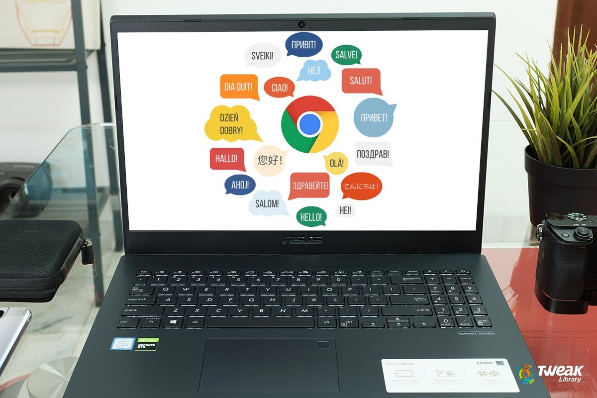 How to Change Language on Google Chro