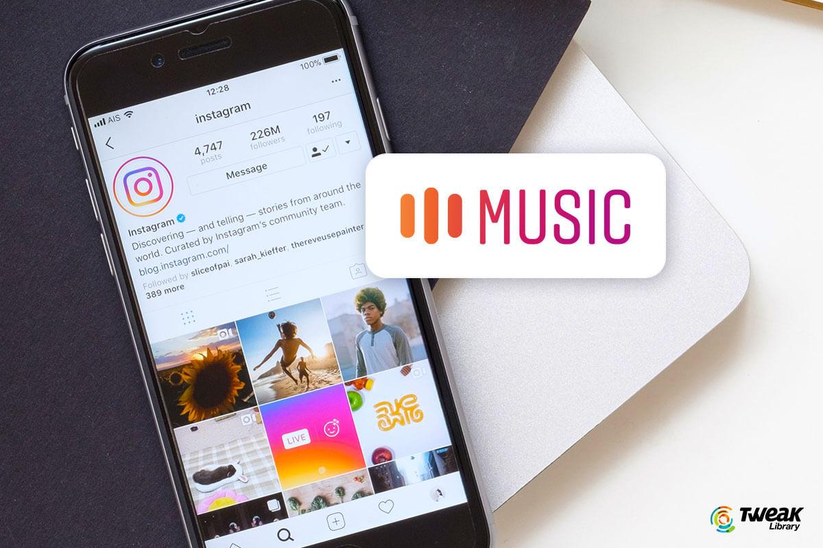 Instagram music