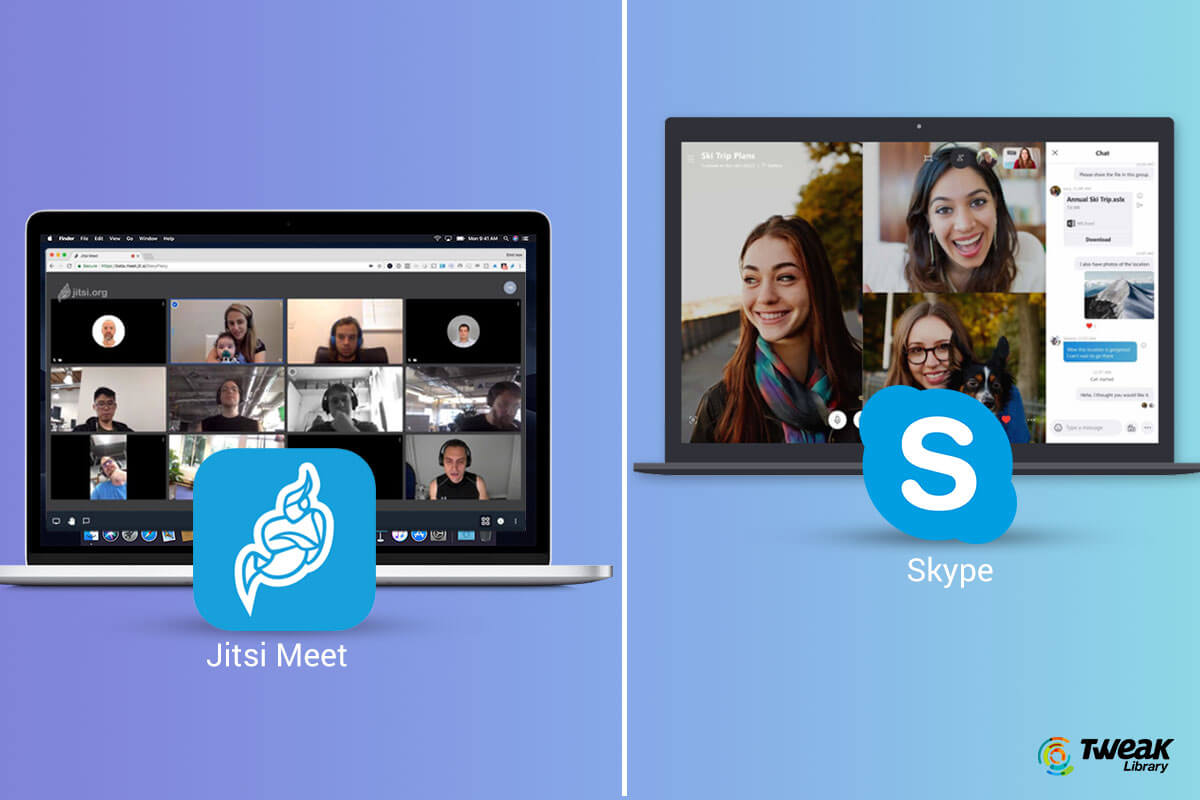Jitsi Meet VS Skype – Which is the best Video Calling App