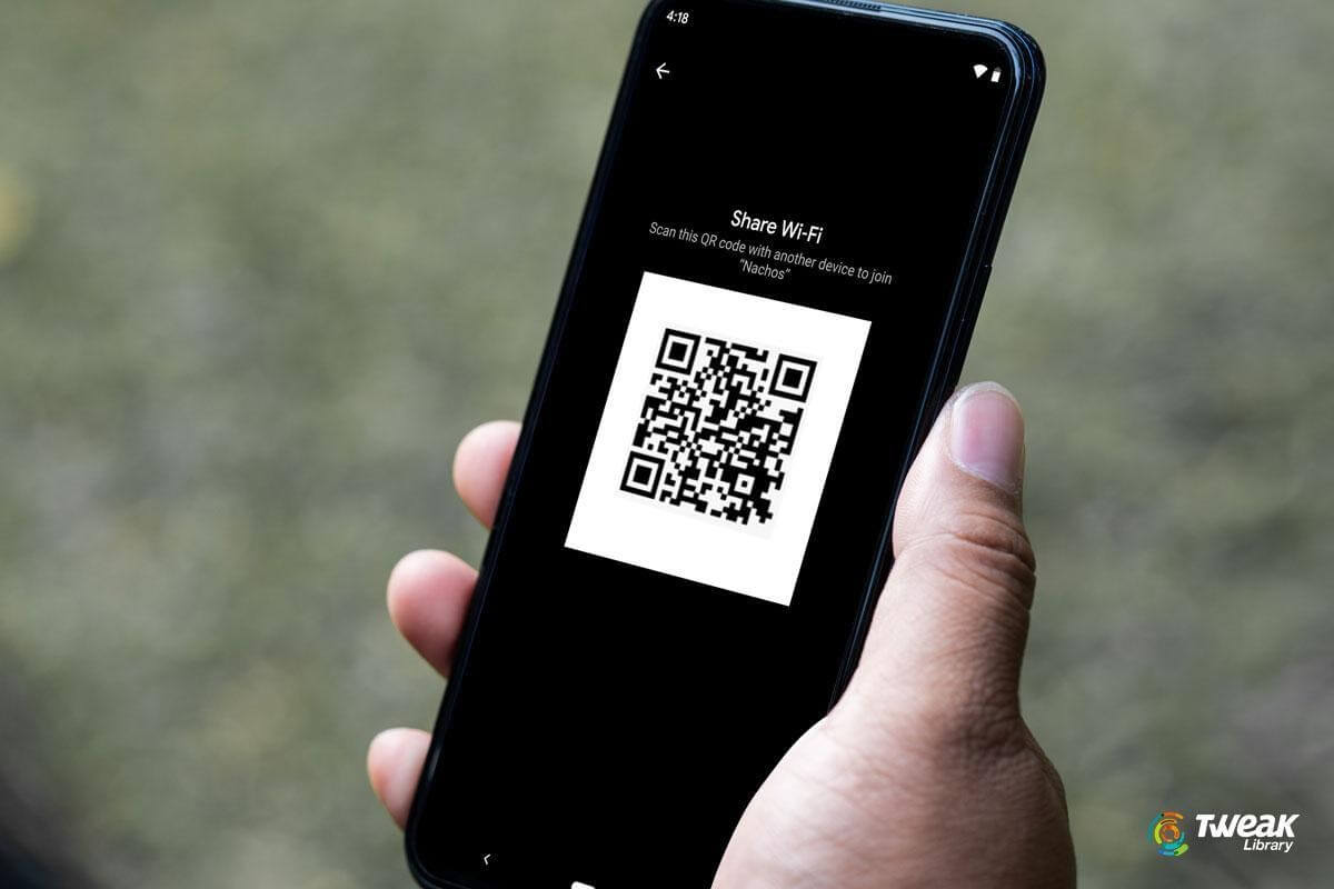 How To Share Your Android Wi-Fi Password Using QR Code