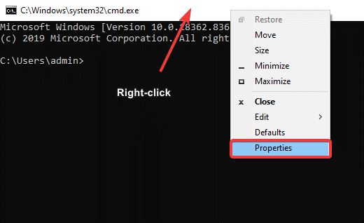 Change Color of Command Prompt Window