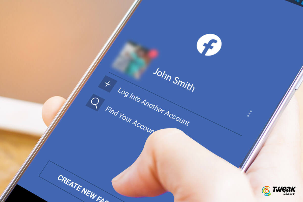 How to switch between facebook profiles