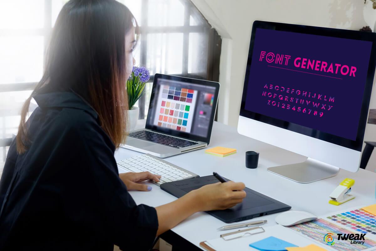 Top-Free-Online-Font-Generators