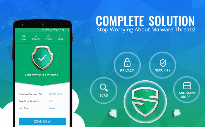 systweak android security app