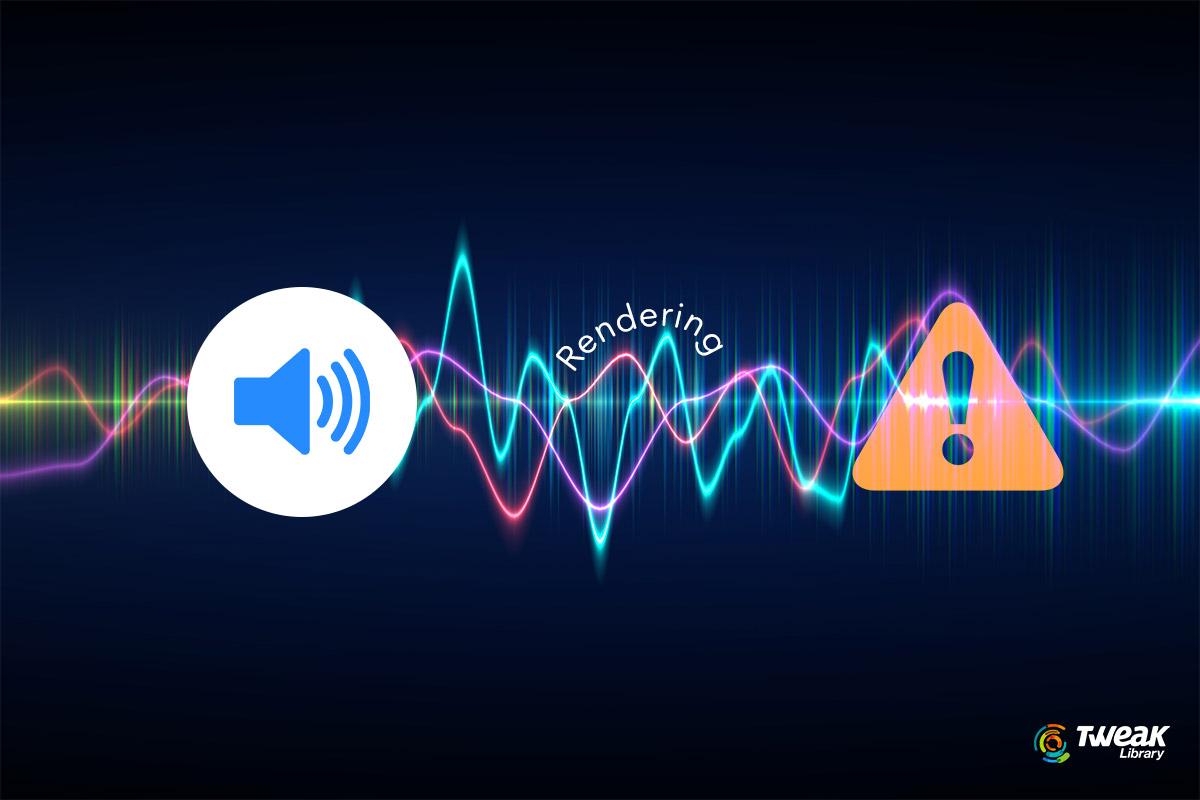 Audio-Renderer-Error