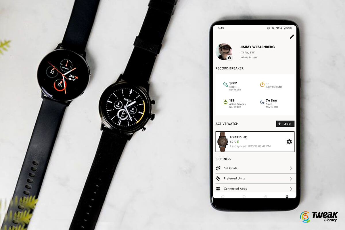 HOw to use Fossile Smartwatch App on hybrid watches