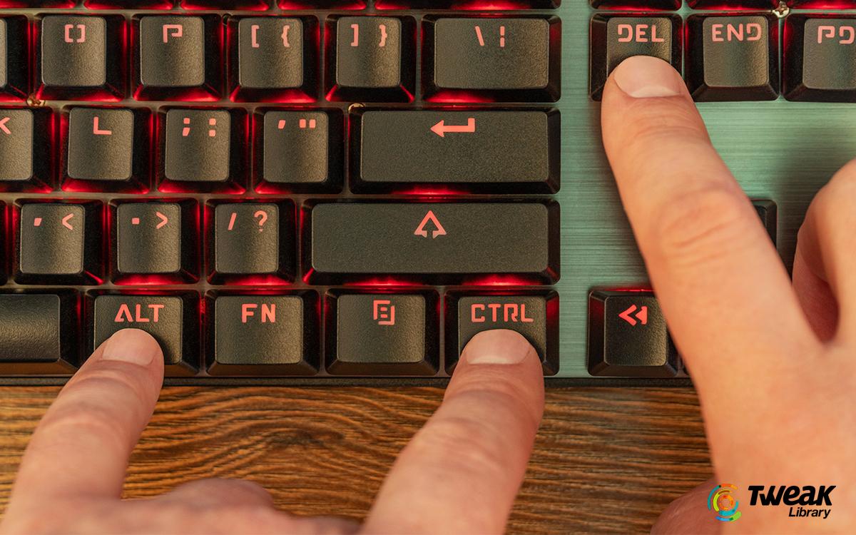 How to Fix Ctrl Alt Del not Working
