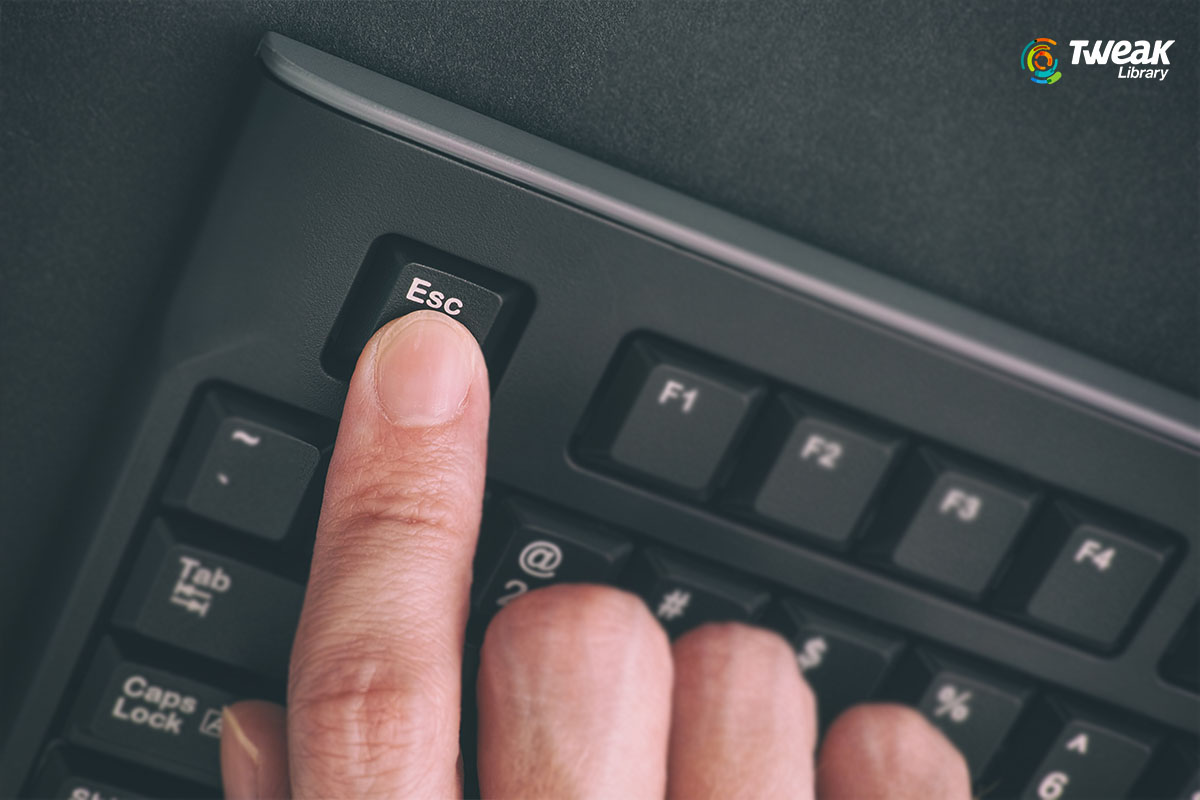 How to Fix Esc Key Not Working in Windows 10