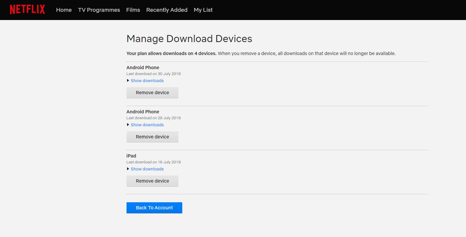 Lock Device To Remove