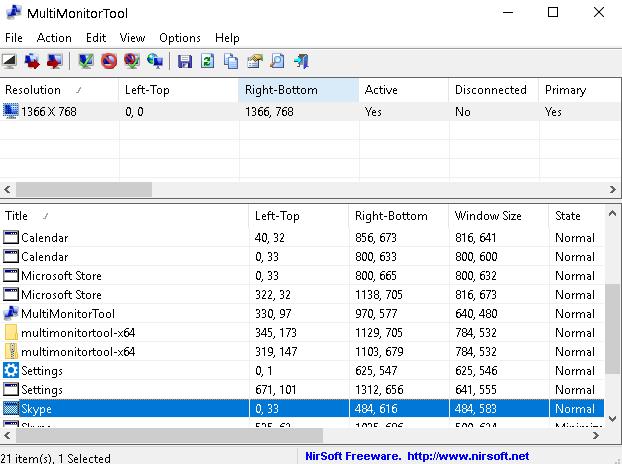 Multimoni Taskbar
