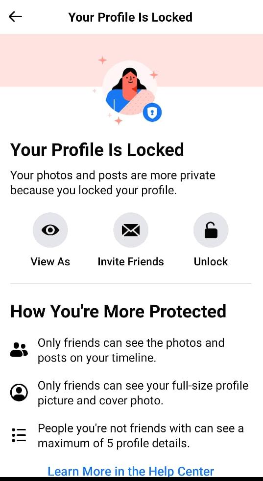 Tap on Unlock icon