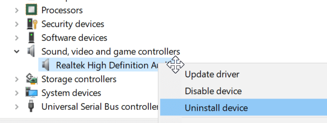 install Audio Drivers