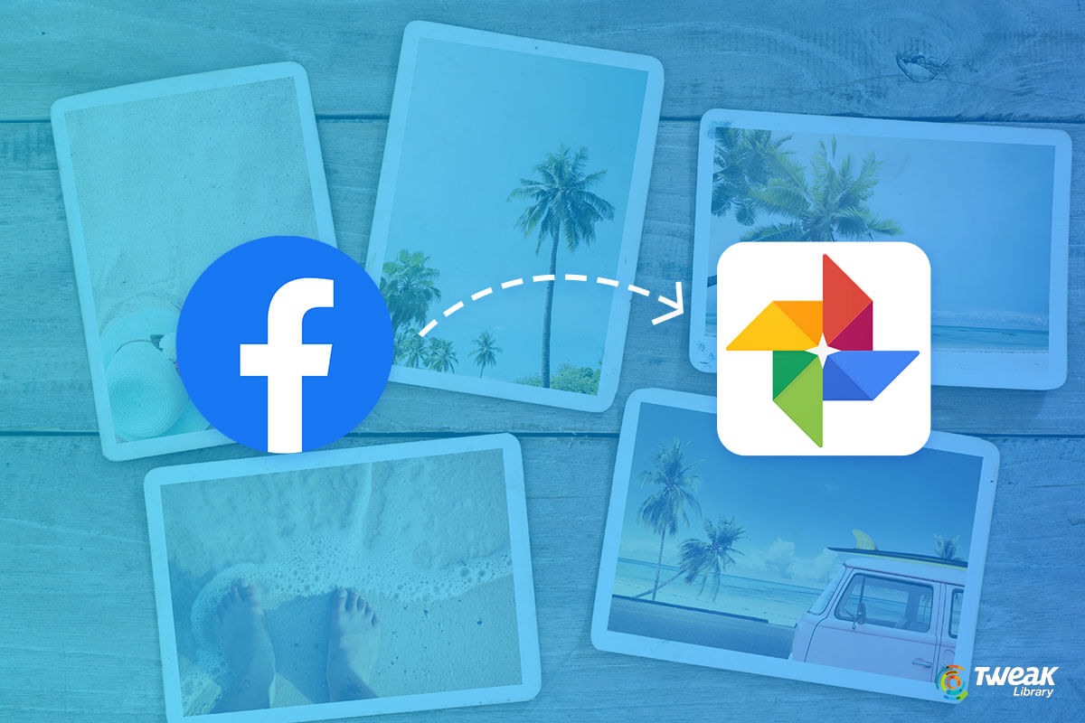 move Facebook Photos to Google Photos