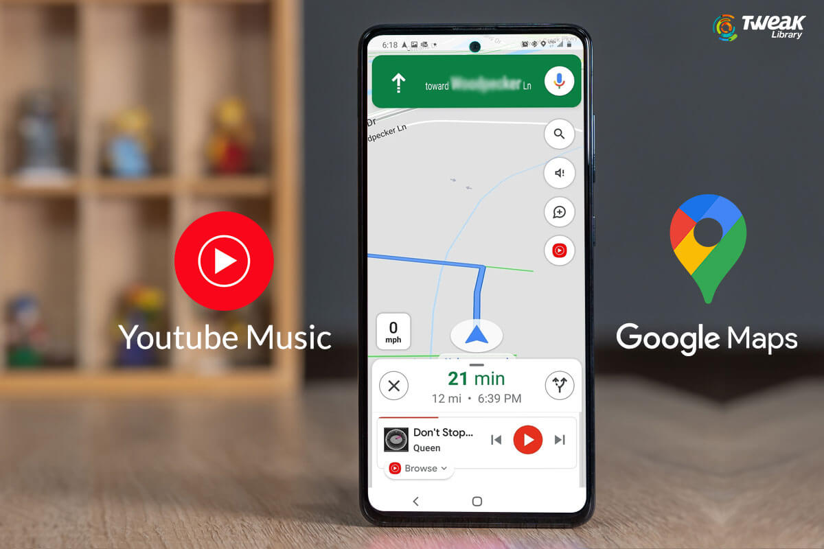 How To Use YouTube Music In Google Maps Navigation Mode