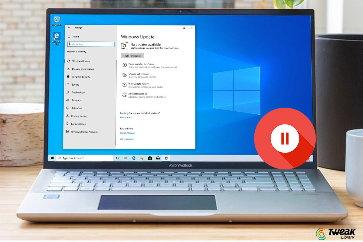 How to Bring Back Pause Update on Windows 10