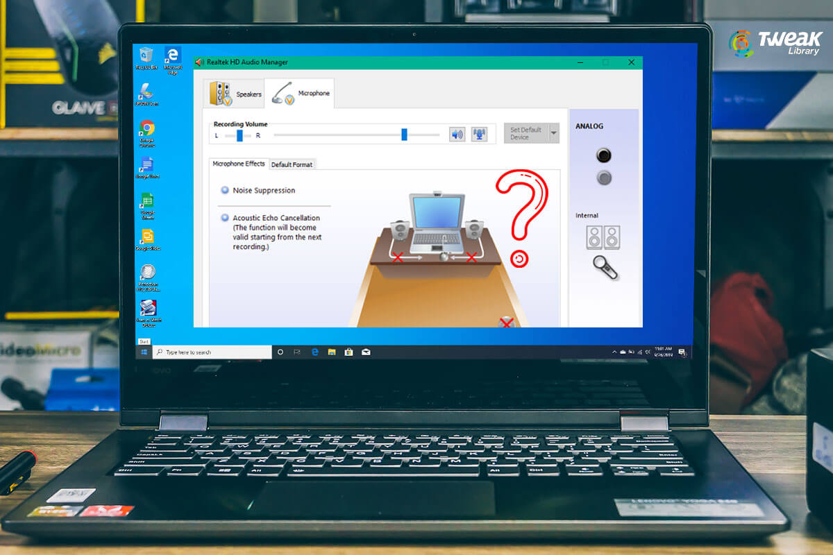 How to Fix Realtek HD Audio Manager Missing from Windows 10