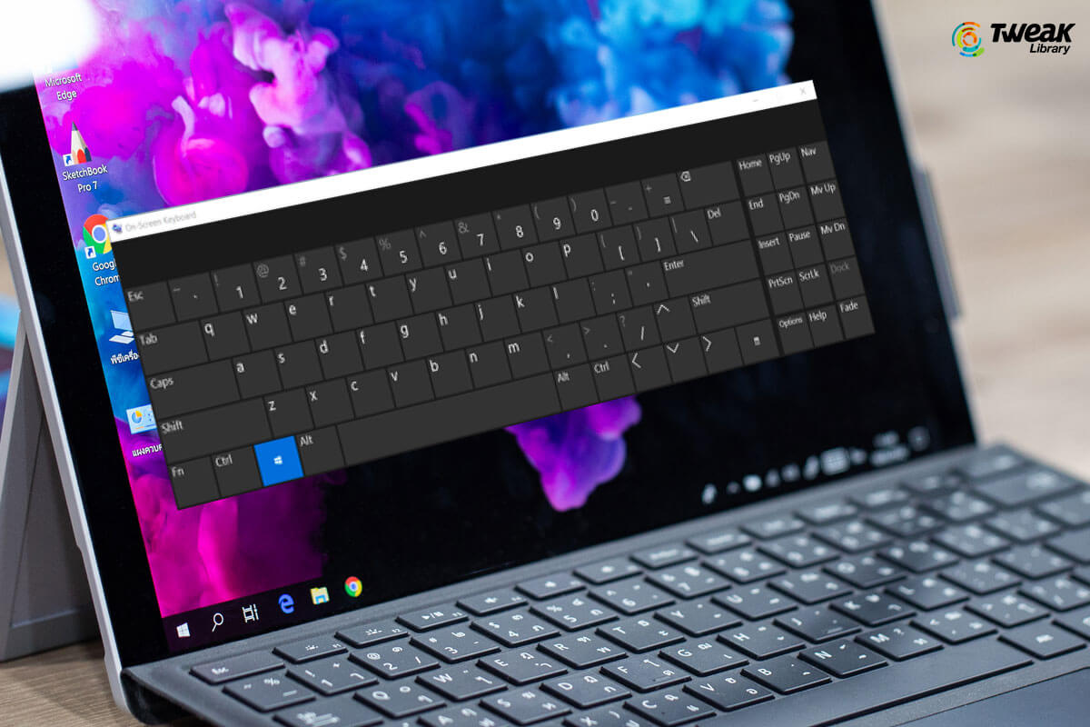 How to Use On-Screen Keyboard On Windows 10
