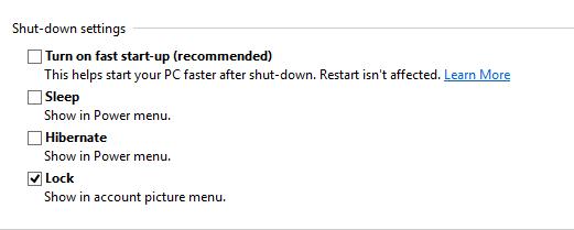 driver-power-state-failure-windows-Shut-Down-settings