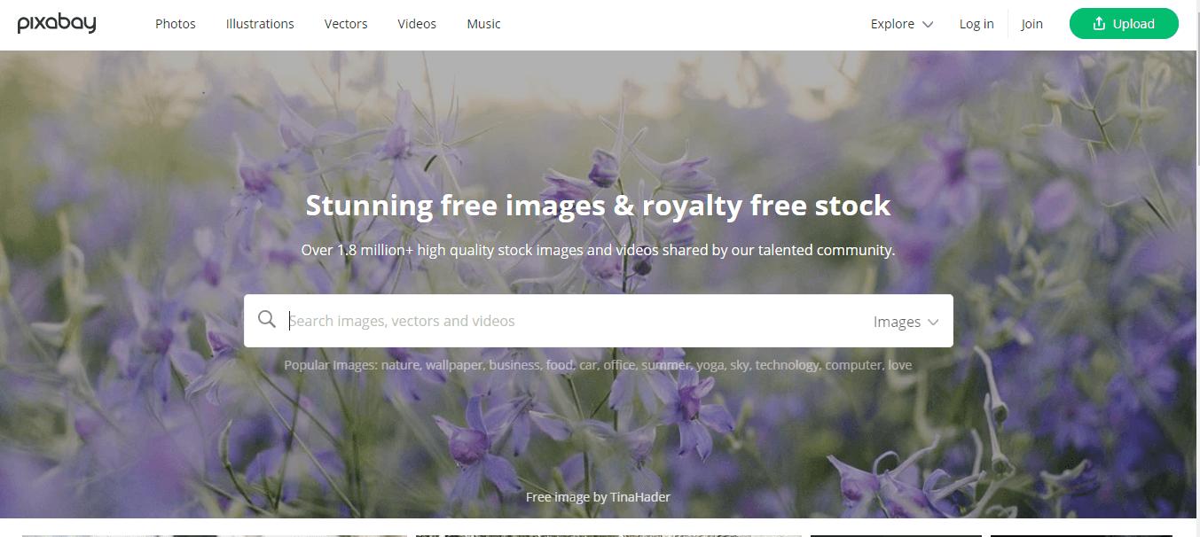stock photo site