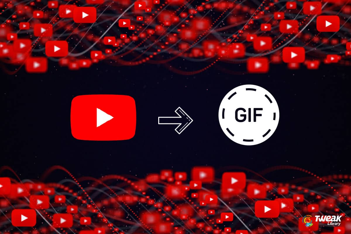 How To Make A GIF From A YouTube Video
