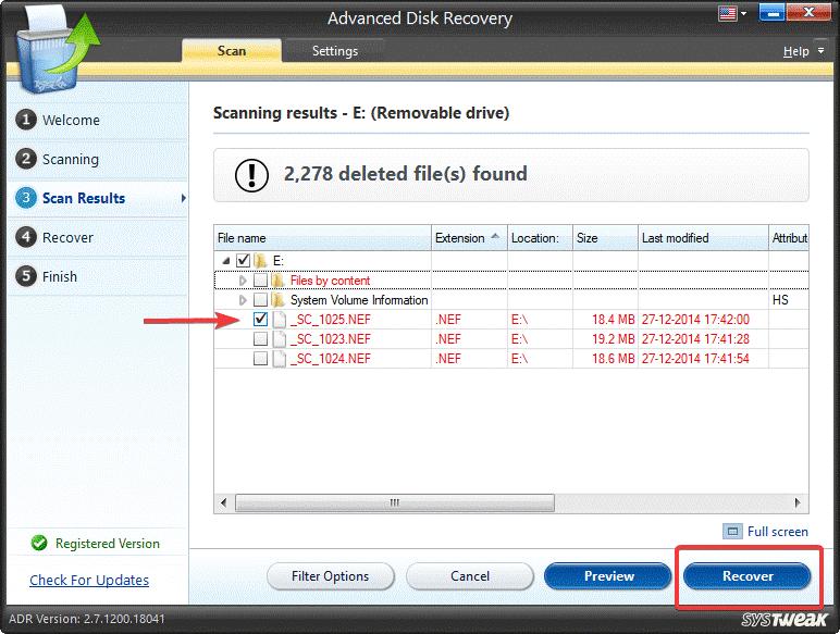 Recover - Advanced Disk Recovery | كيفية استرجاع مقاطع الفيديو المحذوفة من الفلاشة