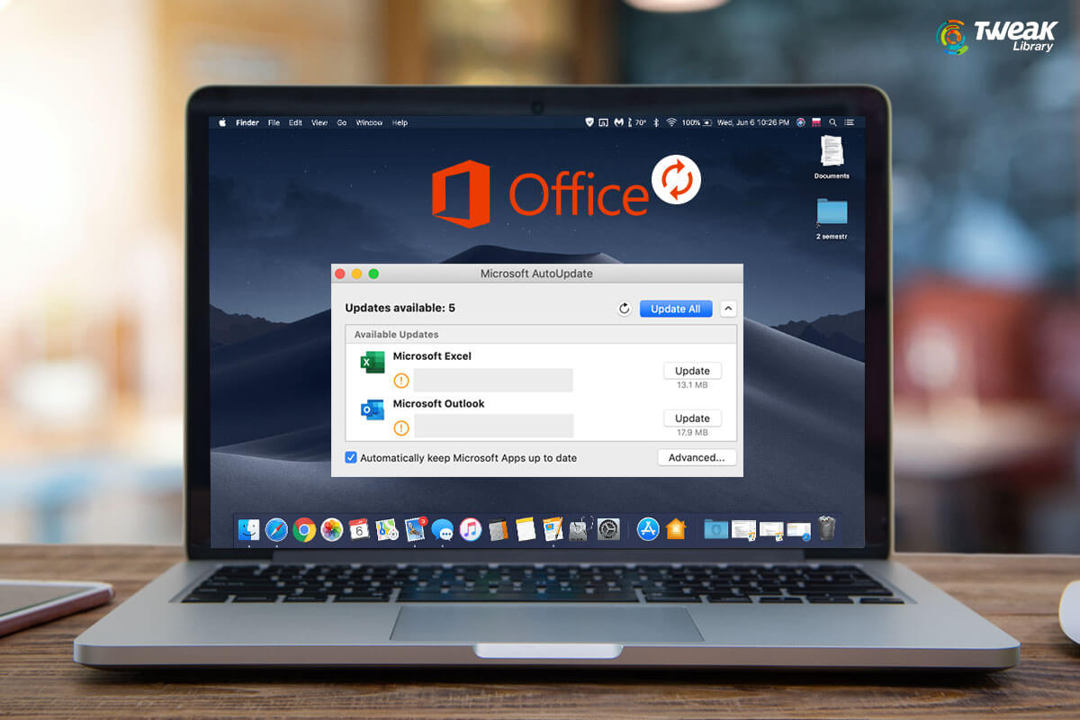 Want To Update Microsoft Office Apps On Mac And Windows? Here's How