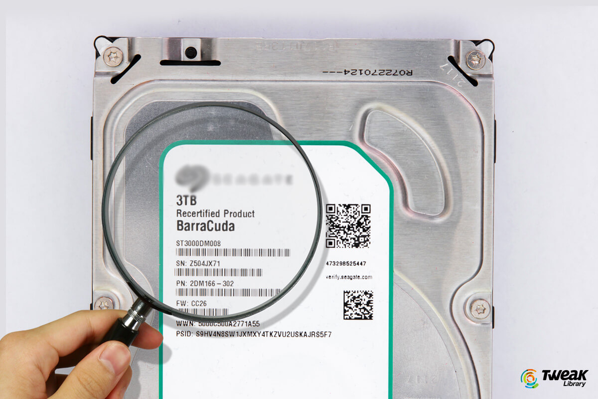 How To Find The Serial Number For Your Hard Drive