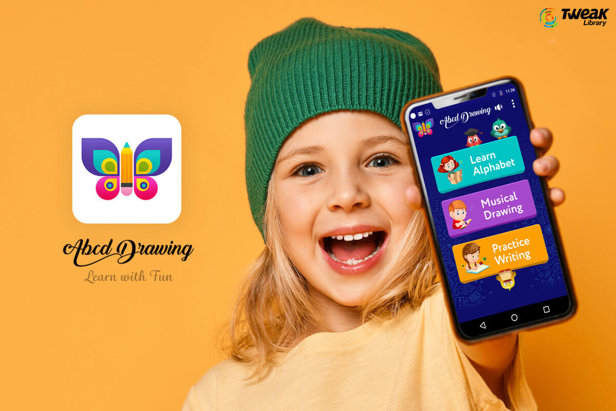 Make Learning Fun For Your Kids: ABCD Drawing App For Android