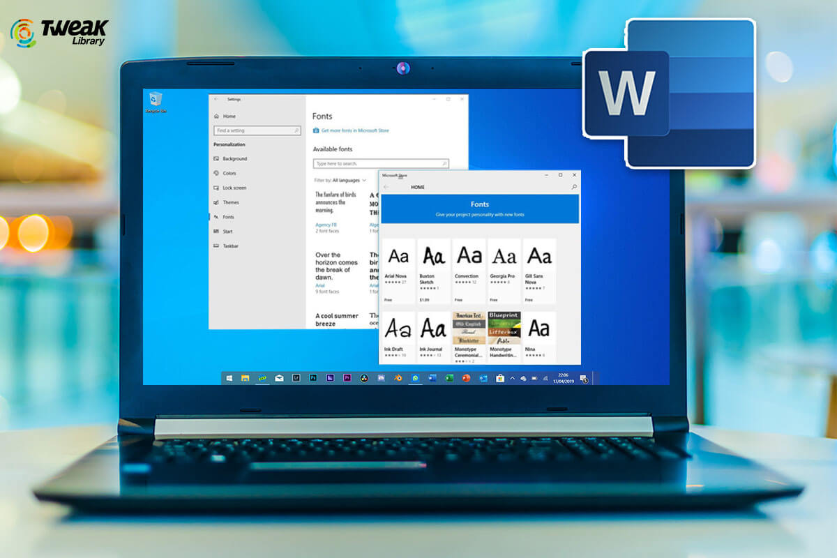 Here's How to Add New Fonts to Microsoft Word