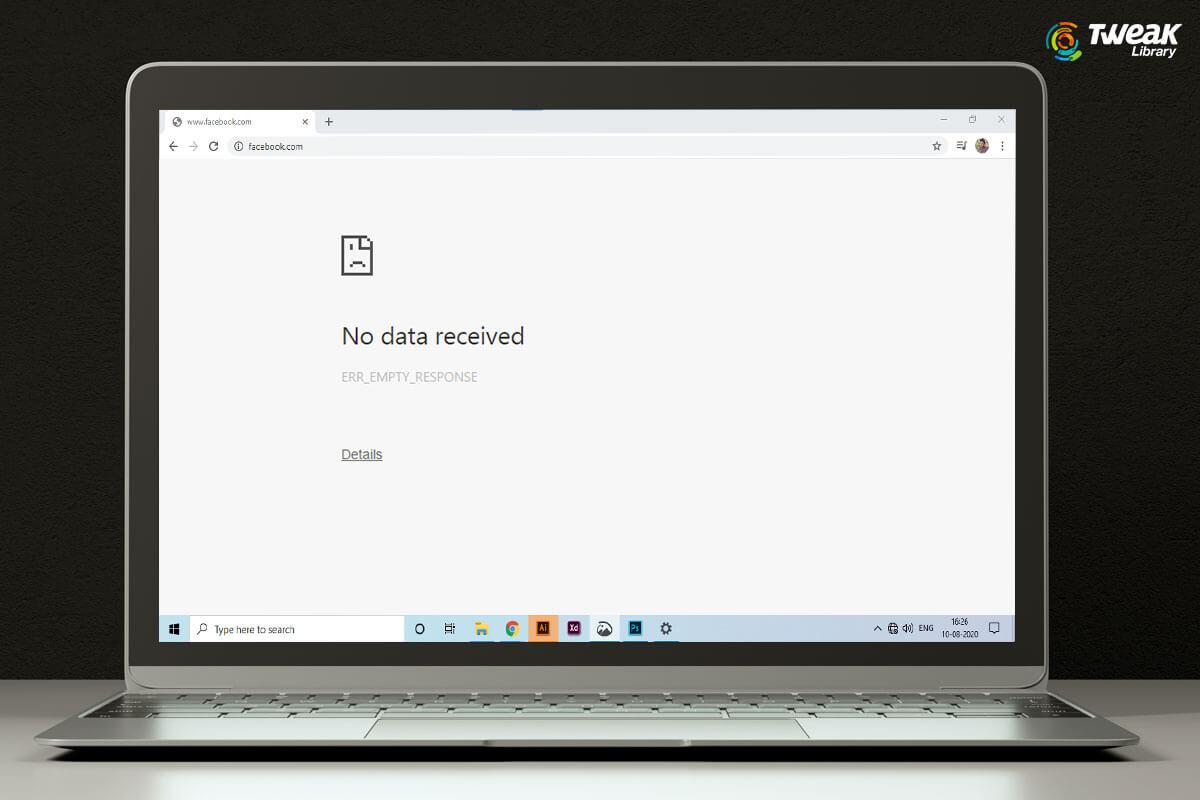 How to Fix ERR_EMPTY_RESPONSE Error on Google Chrome